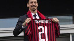 Ibrahimovic quer permanecer no Milan e renovação deve acontecer em breve
