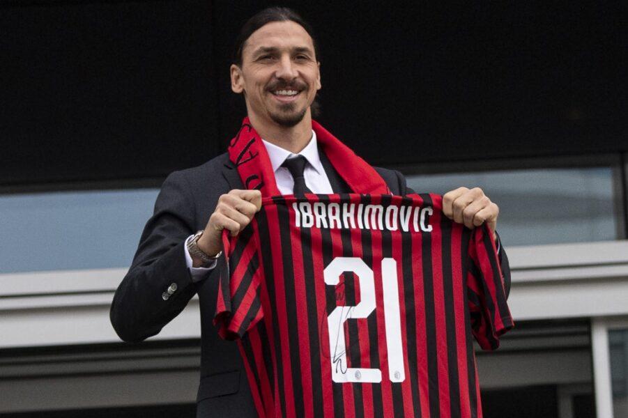 Milan encaminha renovação de contrato com atacante Ibrahimovic