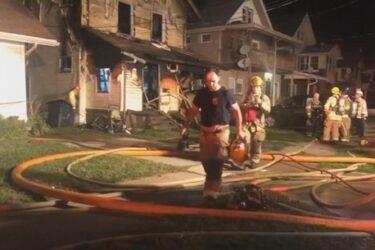 Cinco crianças morrem durante incêndio em creche