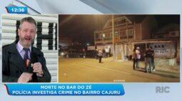 Morte no bar do Zé: polícia investiga crime no bairro Cajuru