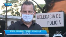 Casal de idosos perde 8 mil reais em golpe