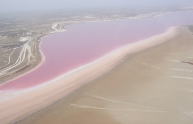 lago rosa salgado como é