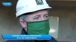 Paraná: Setor da construção civil em crescimento