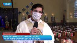 Igreja do Guadalupe faz ação para arrecadar cestas básicas