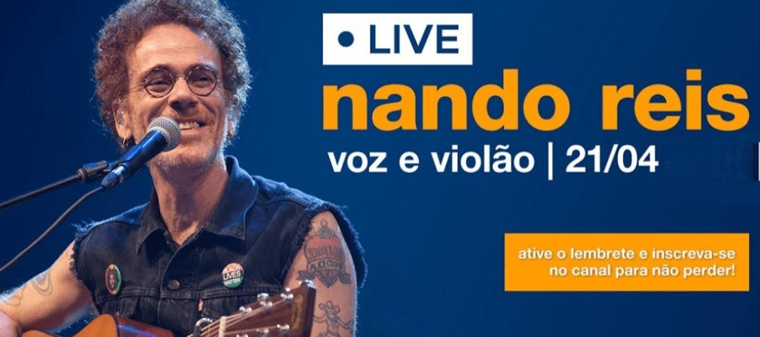 AO VIVO Live Nando Reis Hoje Veja Aqui Onde Assistir