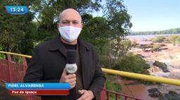 Aumenta a vazão das Cataratas do Iguaçu