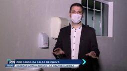Sanepar amplia rodízio em Curitiba por causa da falta de chuva