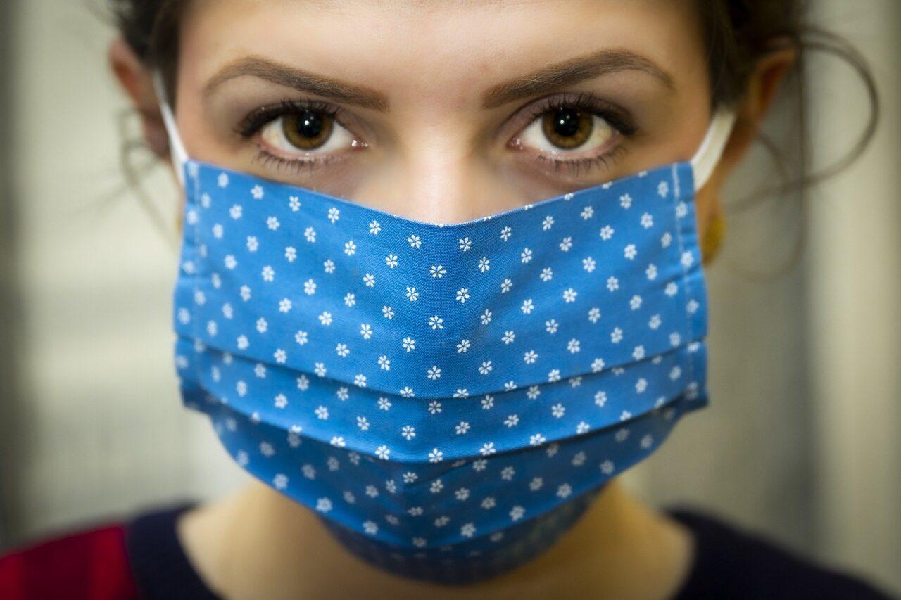 máscara de tecido personalizada covid-19