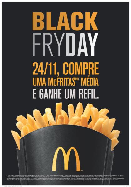 OMG: McDonald's terá refil de McFritas pela primeira vez!