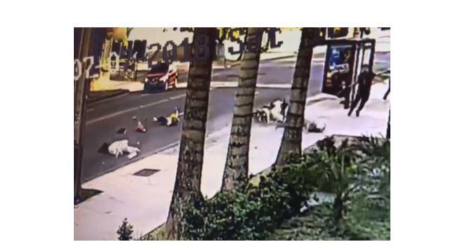Justiça condena motociclista que atropelou pedestres no Batel a pagar indenização para vítimas