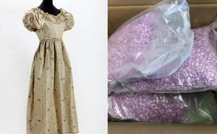Ops! Mulher compra vestido online e recebe 25 mil pílulas de ecstasy
