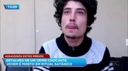 Detalhes de um crime chocante: jovem é morto em ritual satânico