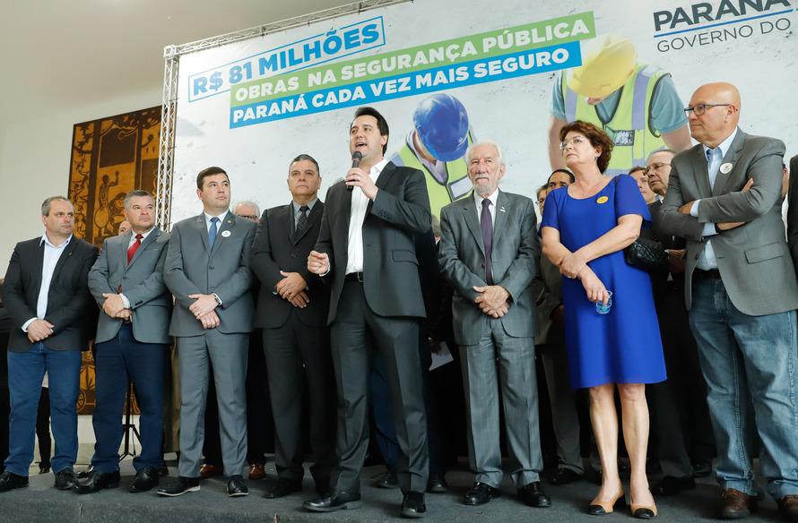 Governo do Paraná anuncia construção de quatro novas cadeias e três delegacias