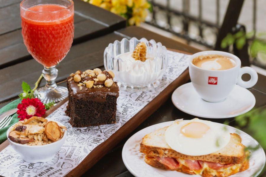 Opções completas para tomar café em Balneário Camboriú
