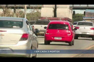 Número de mortes aumenta nas rodovias do Paraná