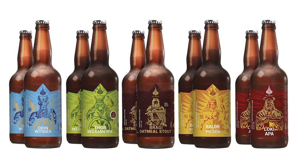 garrafas cervejas Cervejaria Artesanal Ol Beer