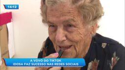 Vovó do tiktok: idosa faz sucesso nas redes sociais