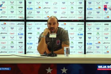 Técnico do Paraná Clube fala sobre o retorno das atividades presenciais