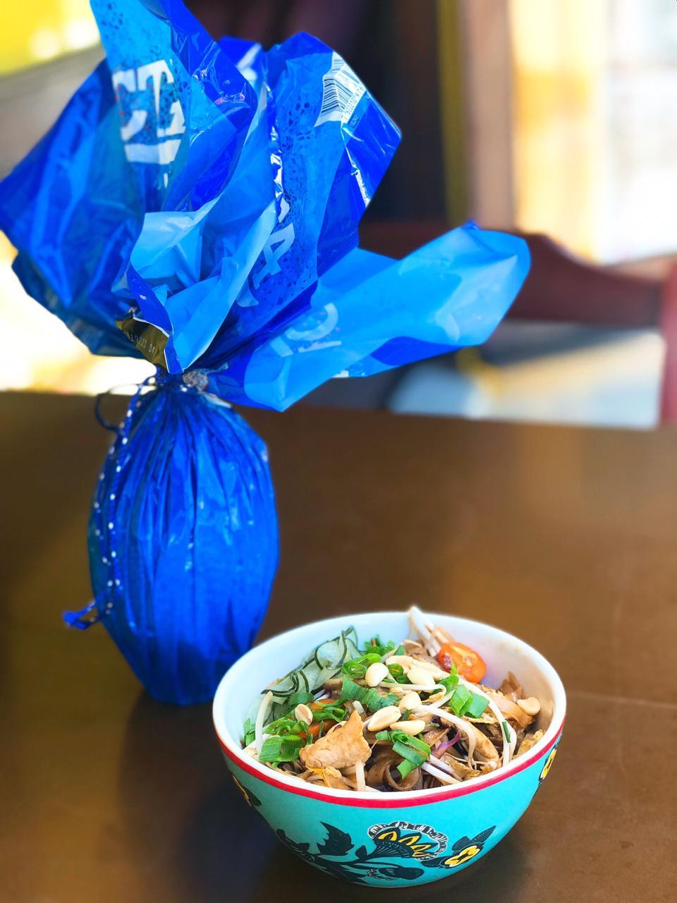 Troque um ovo por um prato de pad thai (Foto: divulgação)