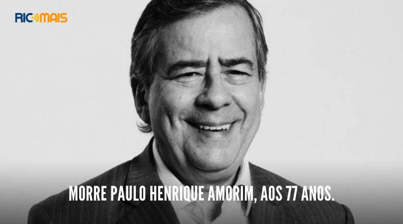 Paulo Henrique Amorim: jornalista morre aos 77 anos