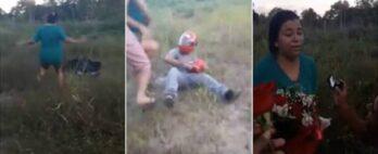 Pedido de casamento: homem finge acidente de moto para pedir namorada em casamento