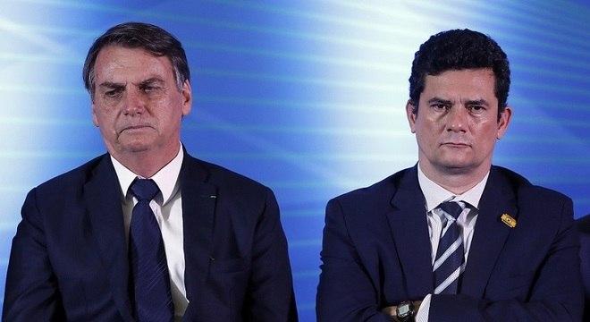 Saída de Moro seria ruim para presidente Bolsonaro, diz pesquisa