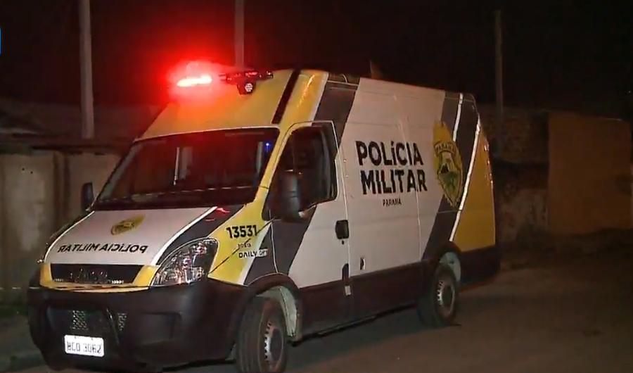 Pintor é morto a tiros em frente a casa da ex-mulher, em Piraquara
