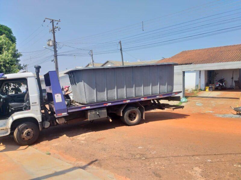 Piscina furtada de fábrica é recuperada em residência de Londrina; vídeo