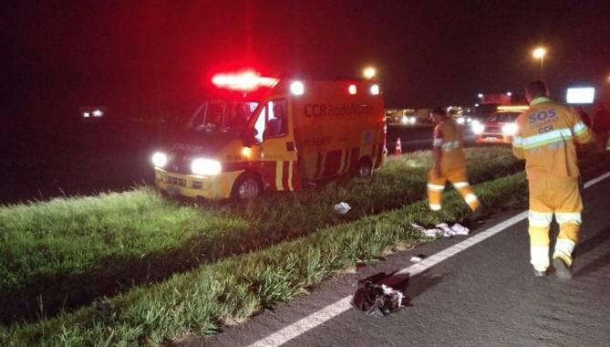 Homem tem braço decepado após ser atropelado na PR-151