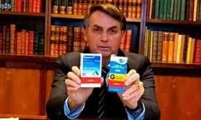 Presidente Bolsonaro + Cloroquina + Excludente da Ilicitude (MP 966/2020)