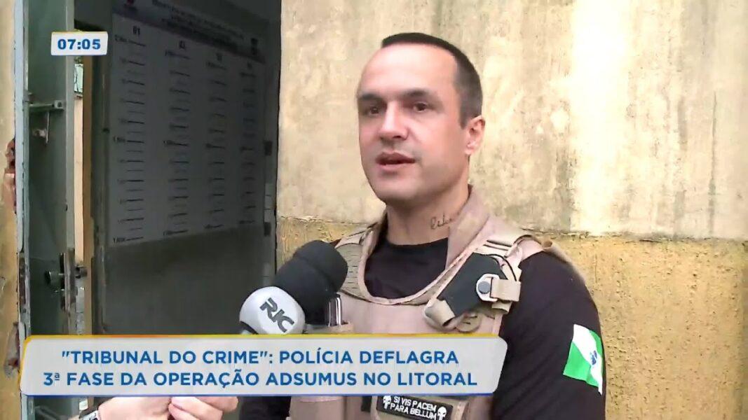 Tribunal do crime em Paranaguá