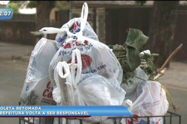 Prefeitura volta a ser responsável pela coleta de lixo