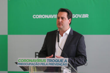 Coronavírus: Governo do Paraná anuncia pacote econômico de R$ 1 bilhão