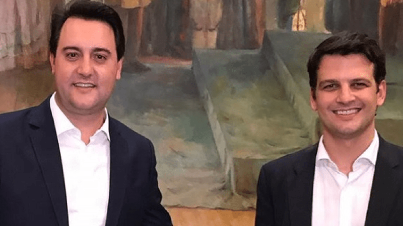 Eduardo Pimentel fecha com Ratinho Júnior e se filia ao PSD