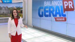 Balanço Geral Manhã estreia com apresentadora Rebeca Branco