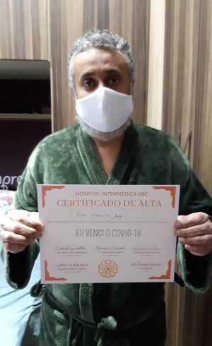 Recuperado de coronavírus diz que 'o medo de morrer o fez permanecer vivo'