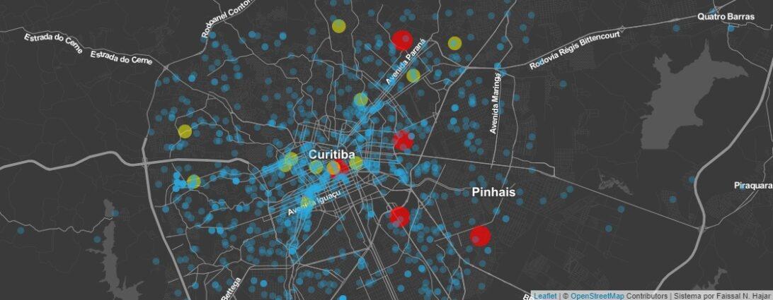 Estudante de medicina da UFPR cria sistema que mostra evolução do coronavírus no Brasil