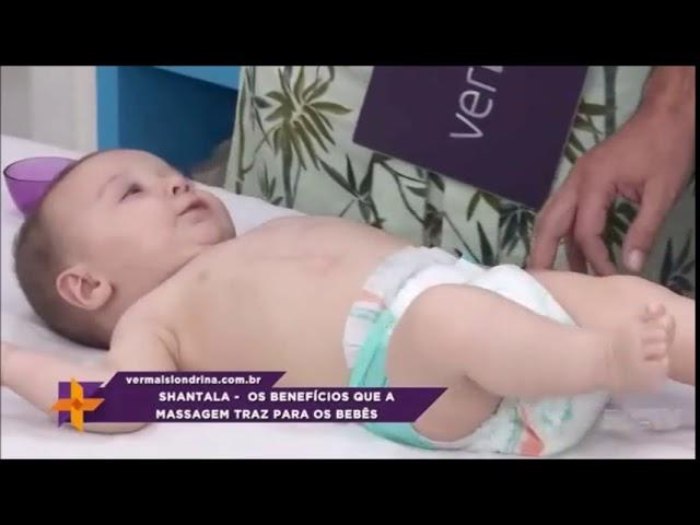 """Saiba os benefícios da massagem """"shantala"""" para os bebês"""