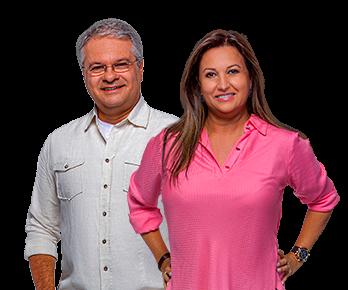 Rose Machado e Sérgio Mendes