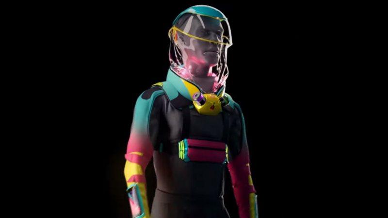 Veja o vídeo: empresa cria roupa 'anti-Covid' para shows e festivais