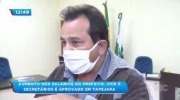 Aumento nos salários do prefeito, vice e secretários é aprovado em Tapejara