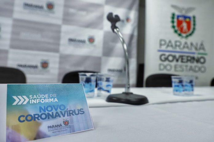 Visita de Ratinho Junior em hospital é suspensa depois de assessor testar positivo para Covid-19