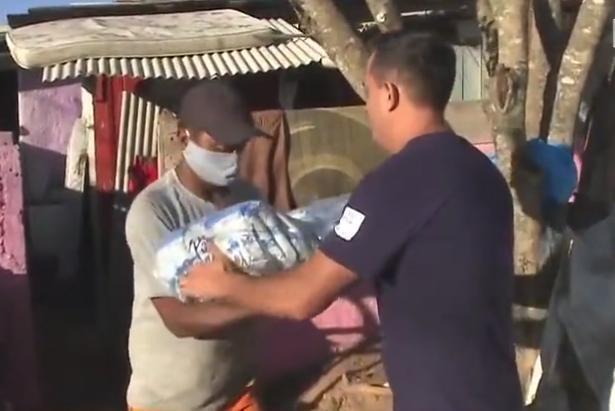 Solidariedade em época de pandemia garante o sustento de famílias vulneráveis