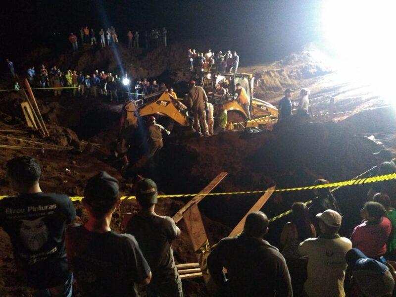 Soterramento Marilândia: laudo constata que normas de segurança não foram cumpridas