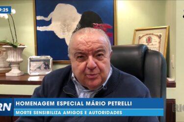 Homenagem especial Mário Petrelli: morte sensibiliza amigos e autoridades
