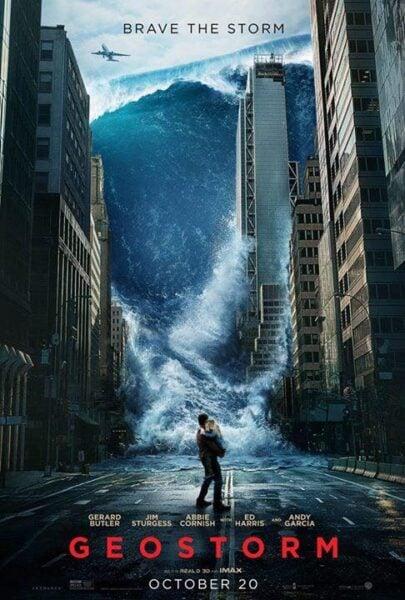Confira o cartaz de 'Tempestade: Planeta em Fúria'