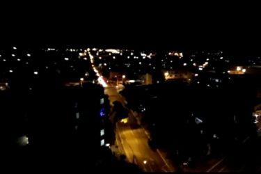 Toque de recolher começa a valer em Cascavel; veja vídeo das viaturas nas ruas