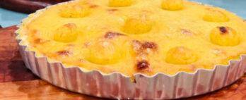 Tortão de polenta, você só encontra no mercado municipal – Bora lá? Curitiba