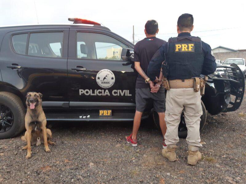 Traficante que vendia cocaína para caminhoneiros na Grande Curitiba é preso