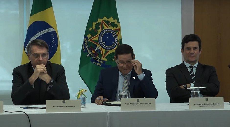 Reunião ministerial em Brasília: veja um trecho do vídeo liberado pelo STF